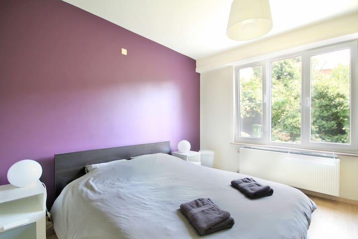 Spacious & light 2 bedroom apartment with garden - Antwerpen - Apartment