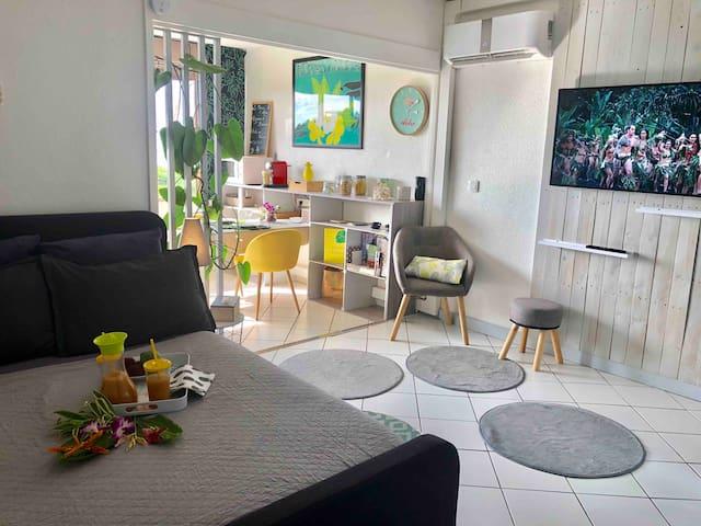 Charming Studio Papeete