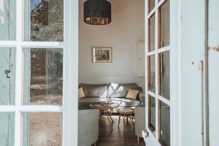 Gîte-Luxury-Ensuite with Bath-Park View