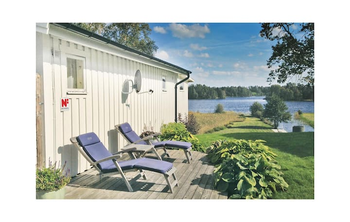 Beautiful home in Bredaryd with Sauna and 2 Bedrooms