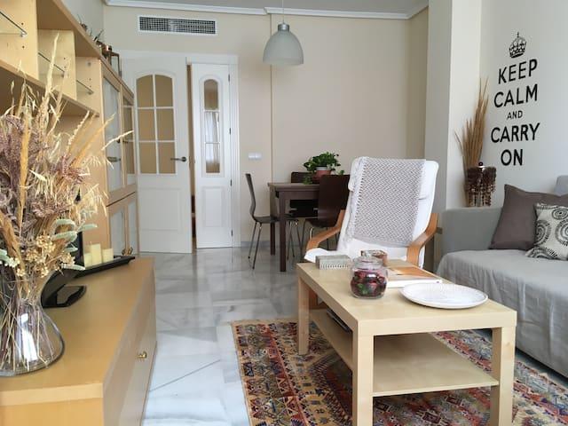 ¡Luminoso apartamento para relajarse y disfrutar!