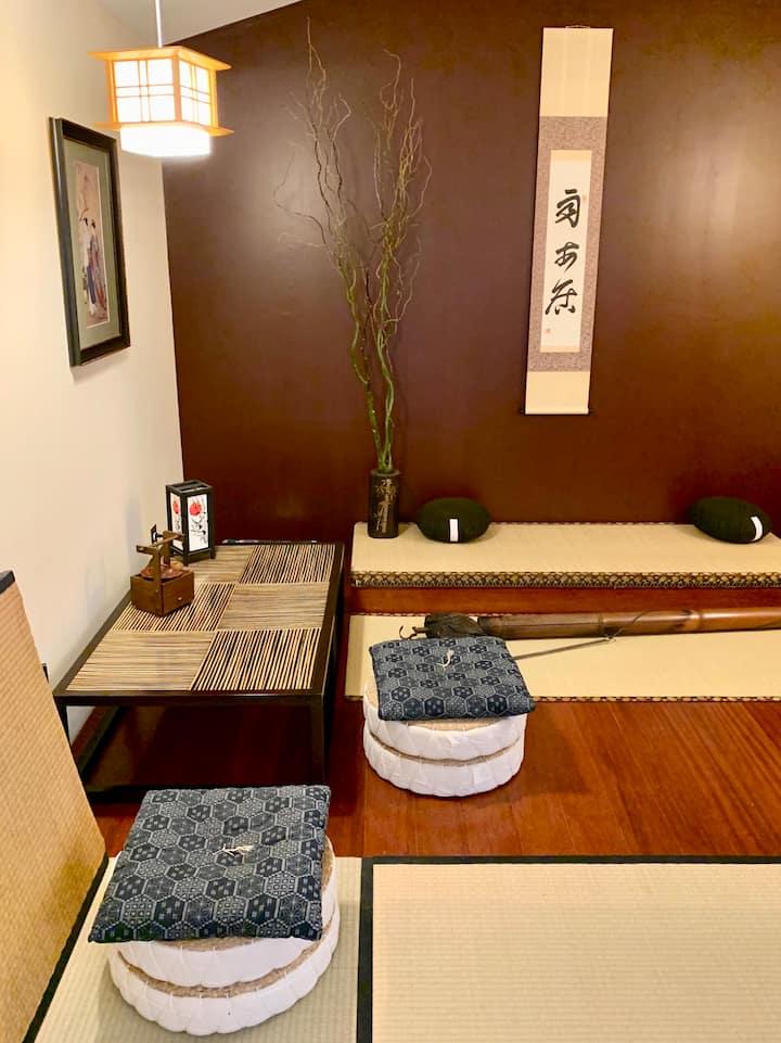 """Kuro Neko"" - Unique Japanese Tatami Retreat"