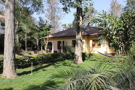 Private room in beautiful house with big garden - Arusha - Haus