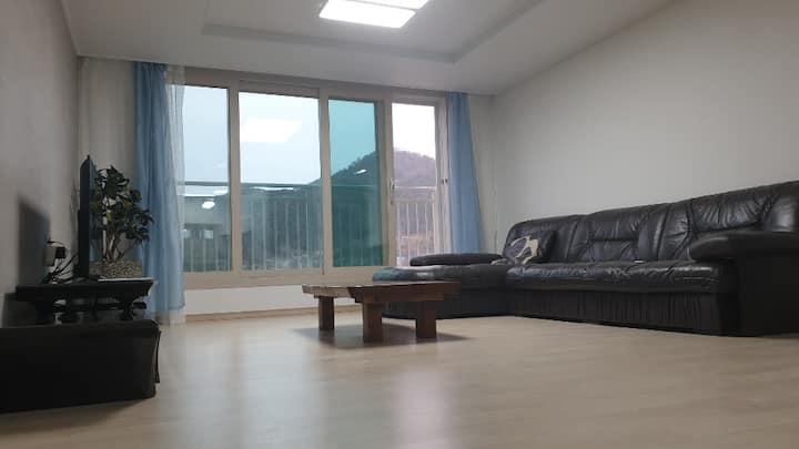 깨끗한침구,콘도급 퀄리티,후기좋은 미르安402Healing_Residence#광주수완10분