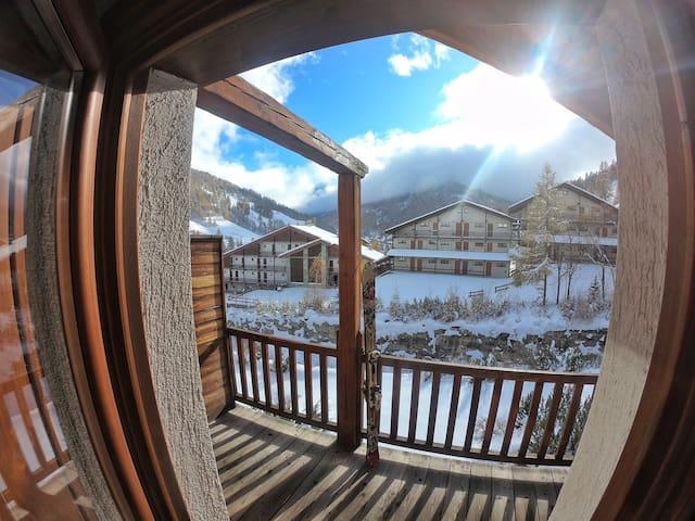 Chalet appartamento vicino alle piste da sci
