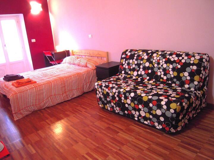 Double room in San Salvario