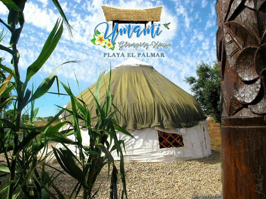 Romantica yurta apta para parejas amigos y flias - Aki madera tratada ...