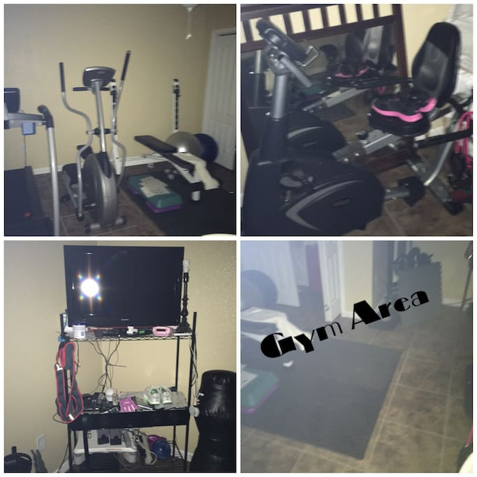 Custom Gym w/5,10,30,60 light sensor. Including fitness wii