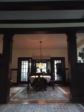 Columbia Craftsman style house
