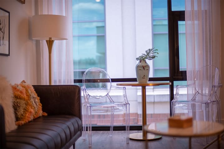 Sweet Balcony Suite in Hip Boutique Hotel