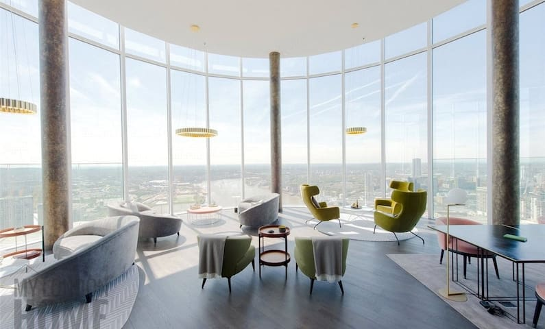 Luxury living with access to sky lounge