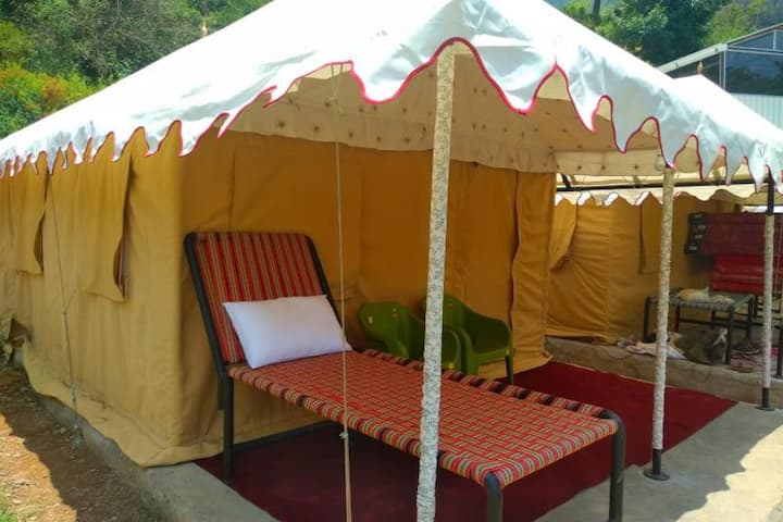 Swiss Cottage Tent for 4 @ The Cocoon