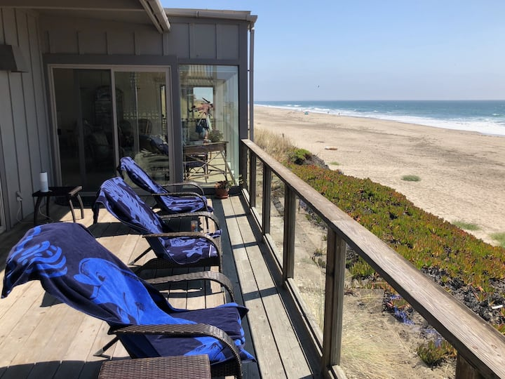 Ocean beachfront Pajaro Dunes Watsonville CA