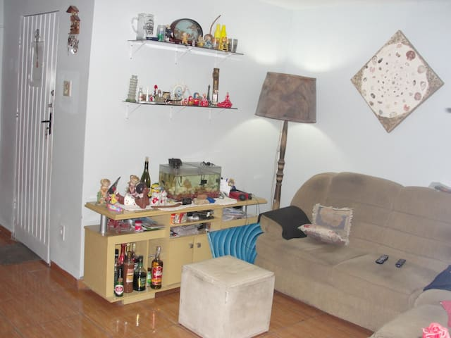 Casa com wifi e double bed - São Vicente - House