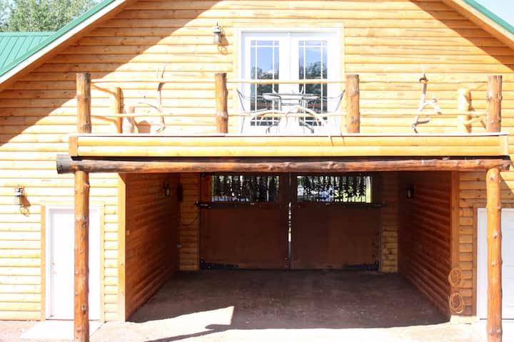 Rustic Ranch Lodge