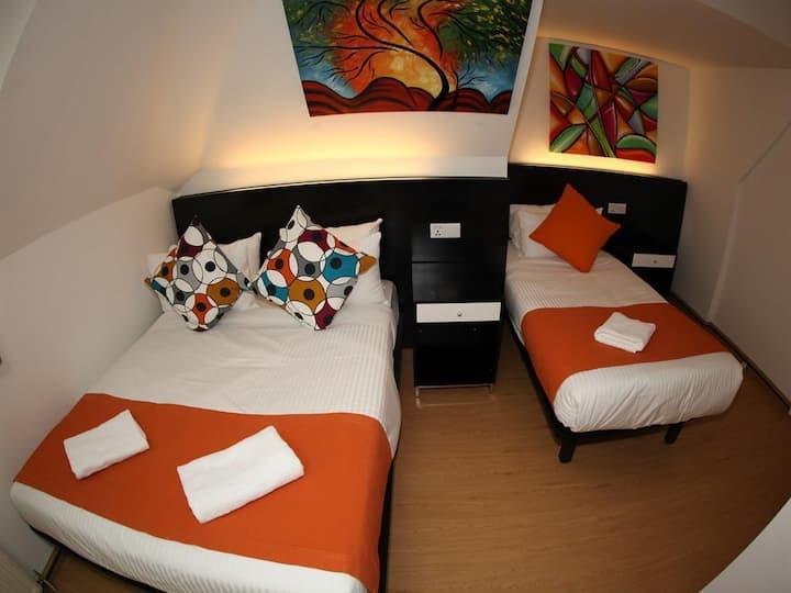 Twin Room at Heathrow Inn