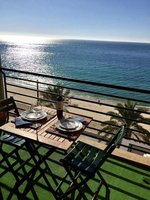 Winter, 28.12.17, balcony view