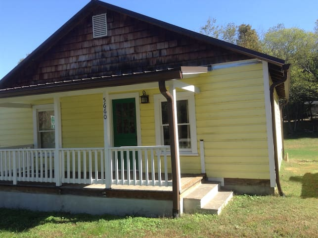 Yellow Mill House in Saxapahaw - Graham