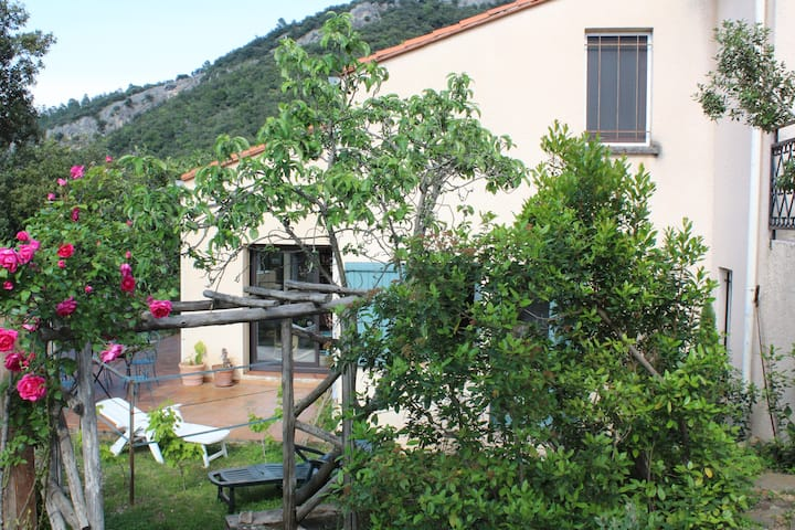 Pyrenees near mediterranean sea: b&b