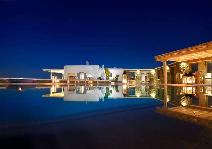 Mykonos Luxury Villa Casa Azzurro
