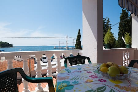 Cozy apartment Toni 2+2 with sea view, pets alowed - Savudrija