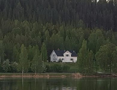 Swedish Lapland lakeside apartment in Österjörn