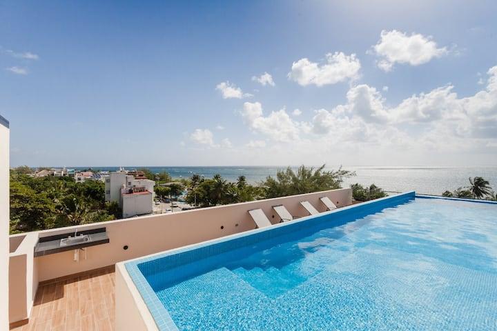 Villa Zen, flat ground floor 3 min beach walk