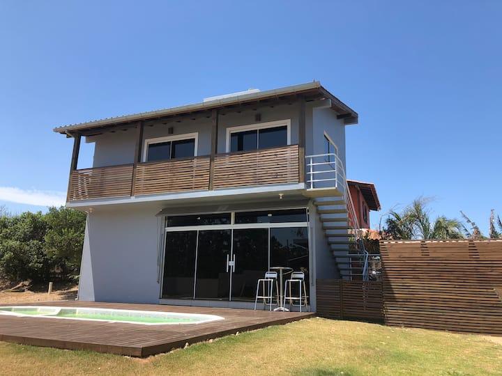 Lindo apartamento na Praia do Rosa