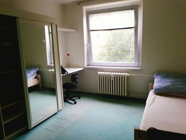 A single room in Brno near Campus Square