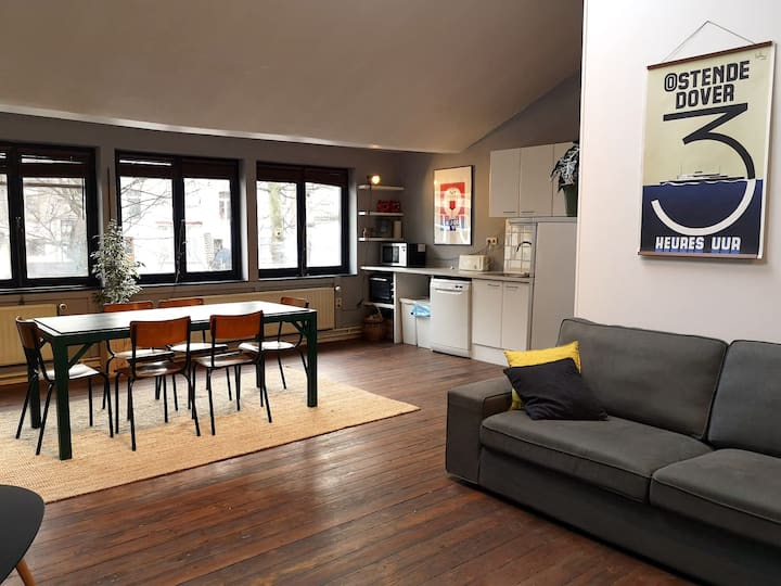 Spacious loft in Brussels !