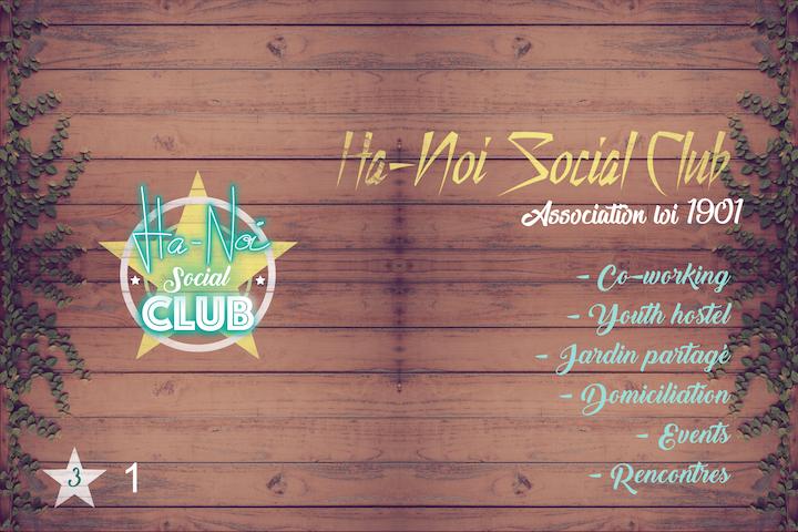 1. Ha-Noi Social Club, 2 Minuten vom Alten Hafen