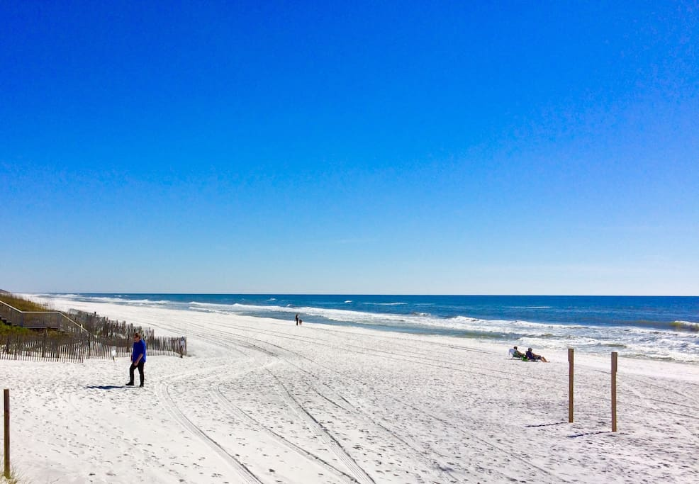 Emerald Coast sugar -white sand beaches are the best in the world!