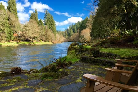 Whispering Pines B&B,  on the McKenzie River - Vida
