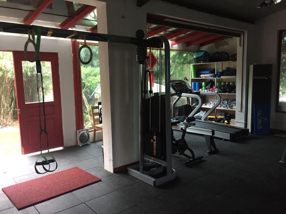 健身房部分
