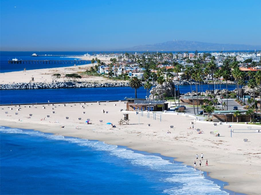 Corona Del Mar Beach in Newport Beach! Great place to enjoy the surf and sand with friends and family!