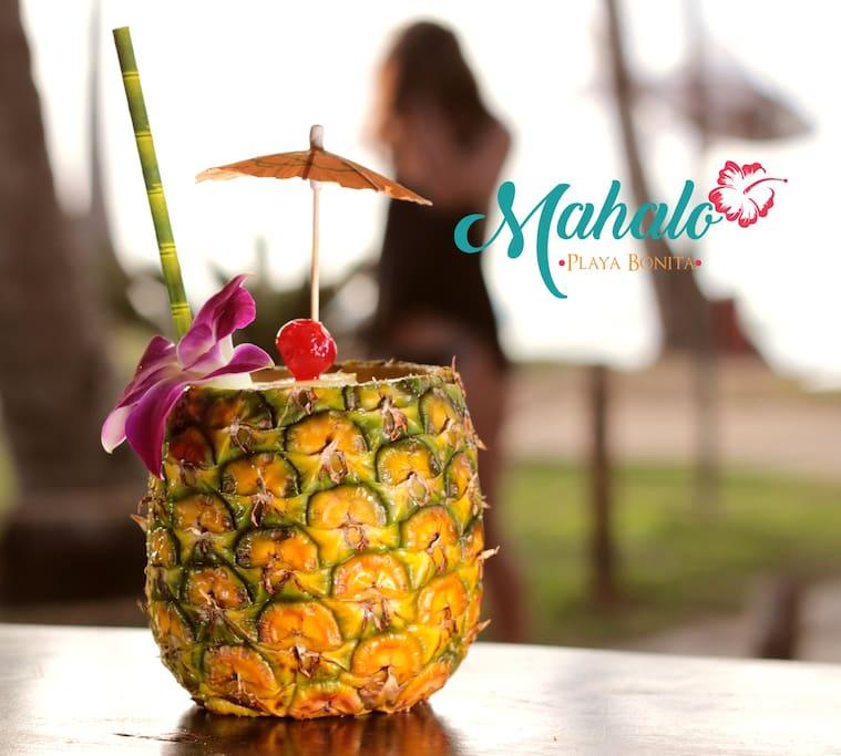 "Mahalo's Signature Piña Colada..."""