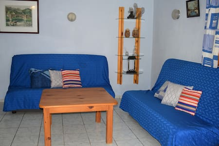 Two bedroom apartment near the beach with pool