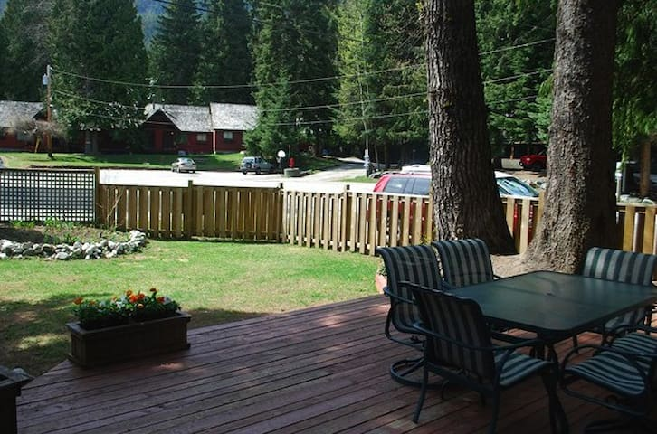 Whistler Four Bedroom Townhome with Enclosed Yard