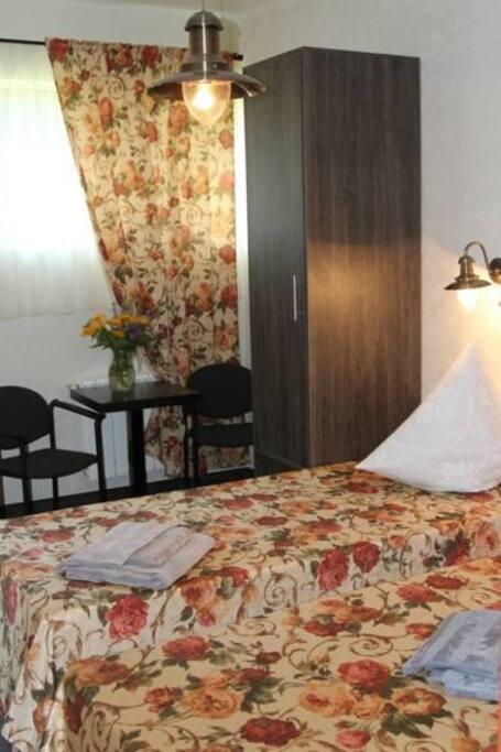 Номер с 2мя односпальными кроватями