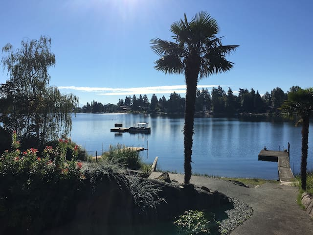 Lakeside Suite on Angle Lake by Seatac Airport