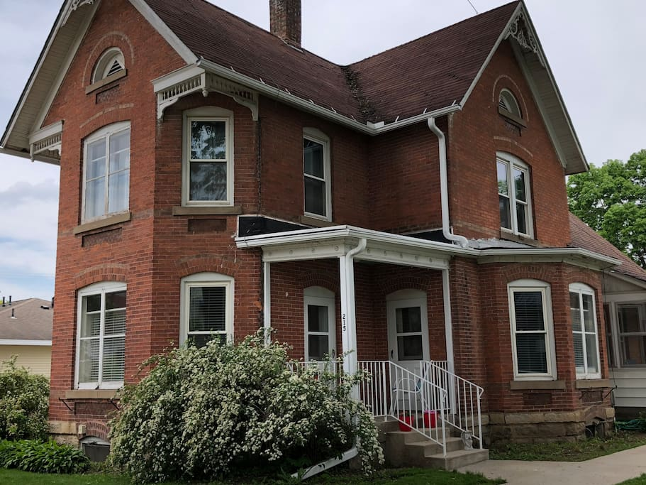 2-story brick, Victorian home built in 1900.  Newly renovated!