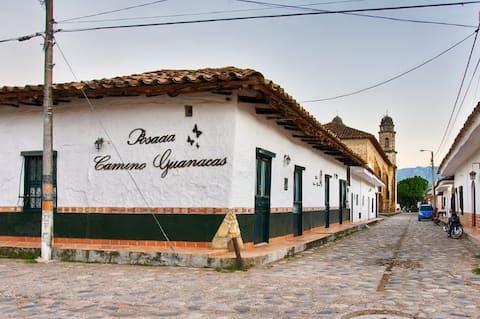 Hotel Posada Camino Guanacas.