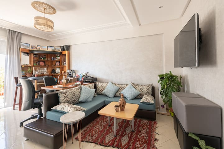 ☆ Cozy Ocean View Apartment +Terrace +Breakfast ☆