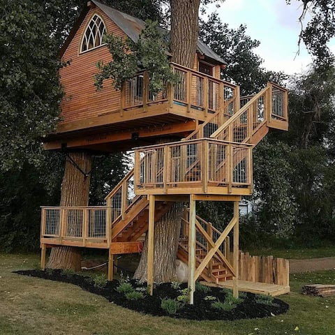Kottage Knechtion treehouse house B&B