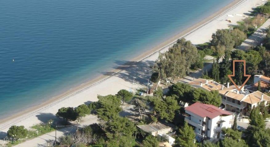 Irene's seaside house, Pouda beach