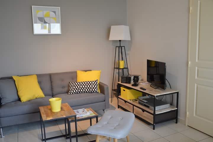 Tours, bords de Loire, appartement 3*