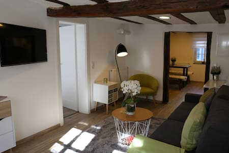Malerwinkel im historischen Fachwerkhaus - Michelstadt - Lägenhet