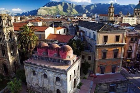Nel cuore di Palermo arabo normanna - Palerme - Maison