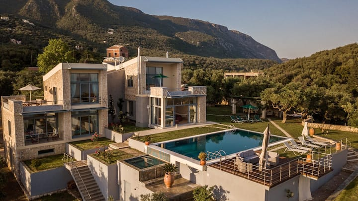 5BR SeaView Villa in Corfu by UniqueVillas
