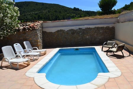 Charming village house with a pool - Embres-et-Castelmaure - Hus